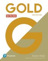 Gold B1+ Pre-First 2018 Teacher´s Book w/ Portal access & Teacher´s Resource Disc Pack