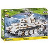 Stavebnice COBI 2511 II World War Tank PzKpfw V Panther Ausf. A/490 kostek+2 figurky