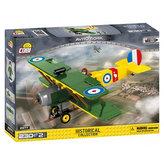 Stavebnice COBI 2977 Great War Stíhací letoun AVRO 504 D7600/230 kostek+2 figurky