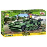 Stavebnice COBI 2498 II World War Tank Stridvagn 103C/600 kostek+3 figurky