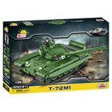 Stavebnice COBI 2615 II World War Tank T72 M1, 128/550 kostek+1 figurka