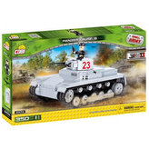 Stavebnice COBI 2474 World War Tank Sd. Kfz 101 Panzerkampfwagen I/350 kostek+1 figurka