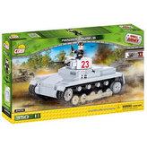 Stavebnice COBI 2474A II World War Tank Sd. Kfz 101 Panzerkampfwagen I/330 kostek+1 figurka