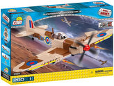 Stavebnice COBI 5525 II World War Stíhací letoun Supermarine Spitfire Mk. IX/280 kostek+1 figurka