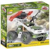 Stavebnice COBI 2156 Small Army Podpůrné raketové vozidlo/90 kostek+1 figurka