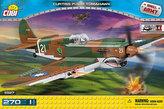 Stavebnice COBI 5527 II World War Stíhací letoun Curtis P40B Tomahawk/270 kostek+1 figurka