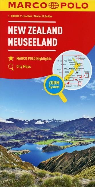 Nový Zéland     mapa 1:800T