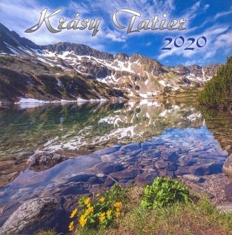 Krásy Tatier 2020 - nástenný kalendár