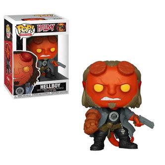 Funko POP Movies: Hellboy - Hellboy w/BPRD Tee