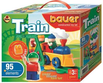 Stavebnice BAUER: Train Vláčky   95 dílů