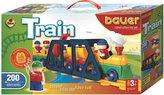 Stavebnice BAUER: Train Vláčky 200 dílů