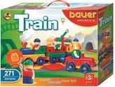 Stavebnice BAUER: Train Vláčky 271 dílů