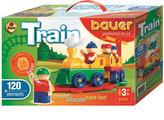 Stavebnice BAUER: Train Vláčky 120 dílů