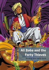 Dominoes Quick Starter - Ali Baba and The Forty Thieves with Audio Mp3 Pack