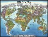 Mapa světa 2000d