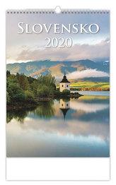 Kalendář nástěnný 2020 - Slovensko