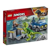 LEGO Juniors Vozidlo pro záchranu Raptora