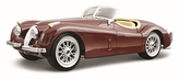 1:24 JAGUAR XK 120 ROADSTER 1951 RED