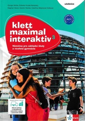 Klett Maximal interaktiv 3 (A2.1) – učebnice