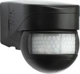 POHYBOVÝ DETEKTOR LUXOMAT LC-Mini 180, černý pro venkovní aplikace