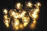 SVĚTELNÝ ŘETĚZ LED 120 LED TEPLÁ