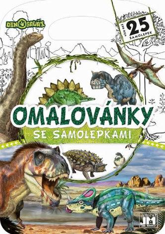 Dinosauři - Kreativní bloky se samolepkami