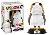 Funko POP Star Wars Bobble: E8 TLJ - Porg Flocked (Exc) (CC) (s možností chase)