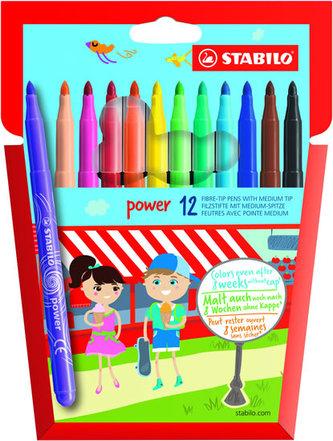 STABILO Power - sada 12 ks