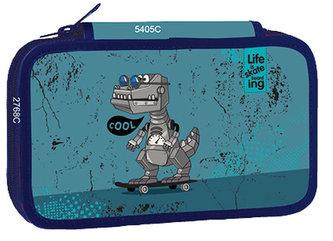 Školní penál třípatrový Cool Robot