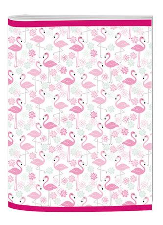 Sešit A4 Trend linkovaný Flamingo