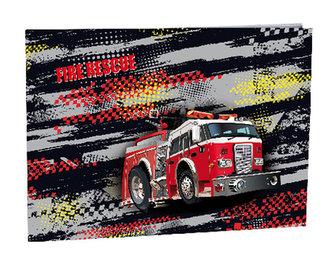Desky na číslice Fire fighters