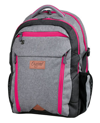 STIL Batoh studentský Original pink