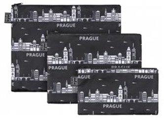 Set 3 taštiček Praha