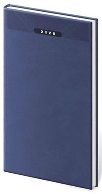 Diář 2020 - Print/týdenní/kapesní/modrá