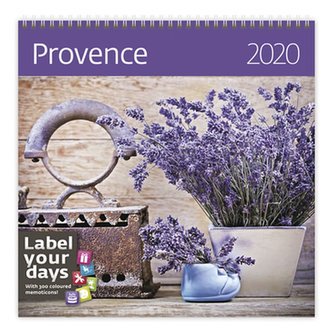 Kalendář nástěnný 2020 - Provence