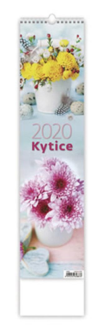 Kalendář nástěnný 2020 - Kytice