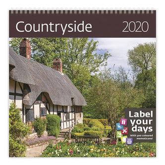 Kalendář nástěnný 2020 - Countyside