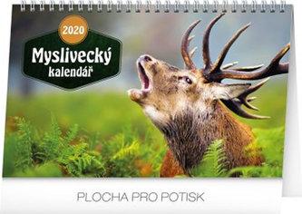 Kalendář stolní 2020 - Myslivecký kalendář, 23,1 × 14,5 cm