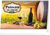 Putování za vínem - stolní kalendář 2020