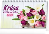 Stolní kalendář Krása květin – Krása kvetin 2020