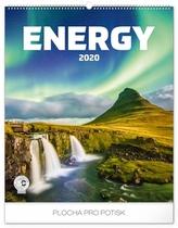 Nástěnný kalendář Energie 2020