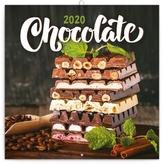 Poznámkový kalendář Čokoláda 2020 voňavý