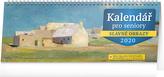Kalendář pro seniory - stolní kalednář 2020