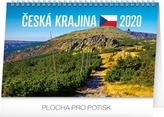 Česká krajina - stolní kalednář 2020