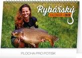 Rybářský kalendář - stolní kalendář 2020