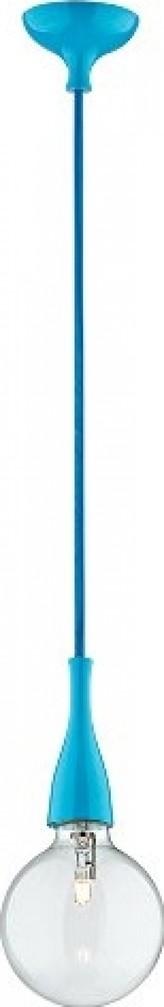 ZÁVĚSNÉ SVÍTIDLO MINIMAL SP1 Azzurro 063614 modré