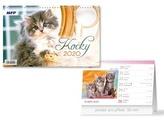 Kočky - stolní kalendář 2020