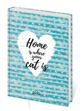 Diář 2020 B6 LYRA denní Home
