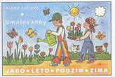 Jaro Léto Podzim Zima - omalovánka