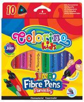 Fixy trojhranné JUMBO 10 barev